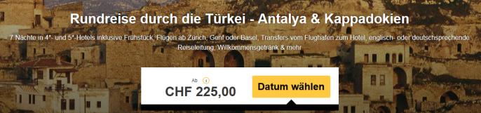Rundreise Türkei