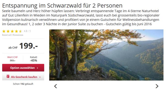 Ferien im Schwarzwald