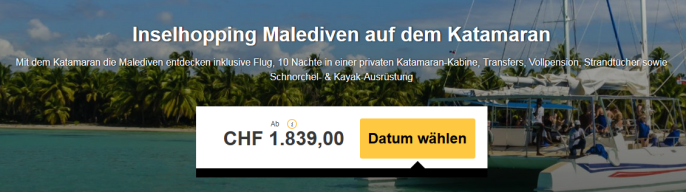 Inselhopping Malediven