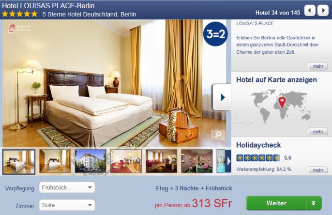Luxustrip nach Berlin