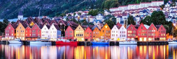 Norwegen Bergen