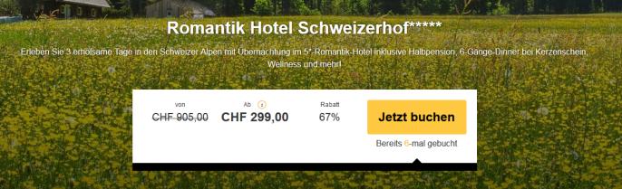 Romantikhotel in der Schweiz