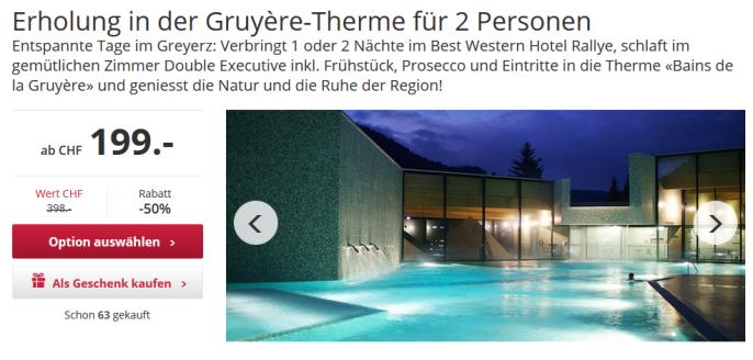 Thermenferien in der Schweiz