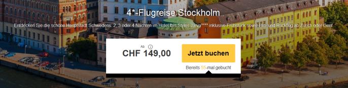 Städtetrip nach Stockholm