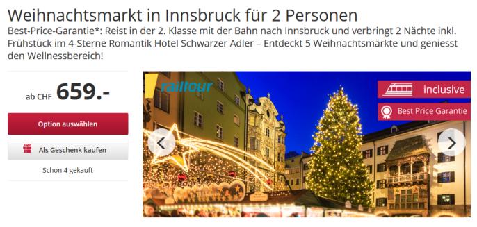 Weihnachtsmarkt in Innsbruck