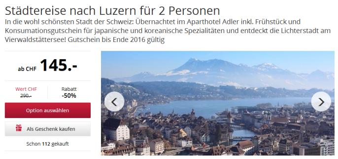 Kurztrip nach Luzern
