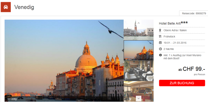 Kurztrip nach Venedig