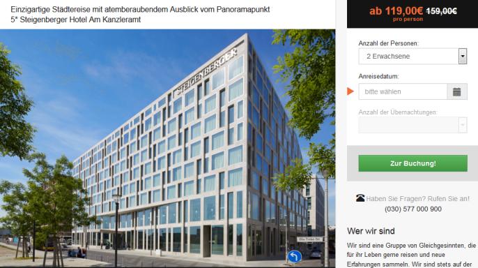 Luxushotel in Berlin