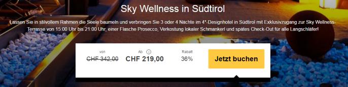 Wellness in Südtirol