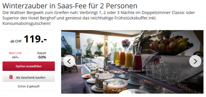 Auszeit in Saas-Fee