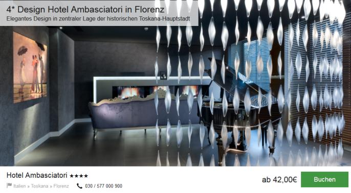 Florenz im Designhotel