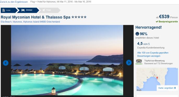 Luxus auf Mykonos