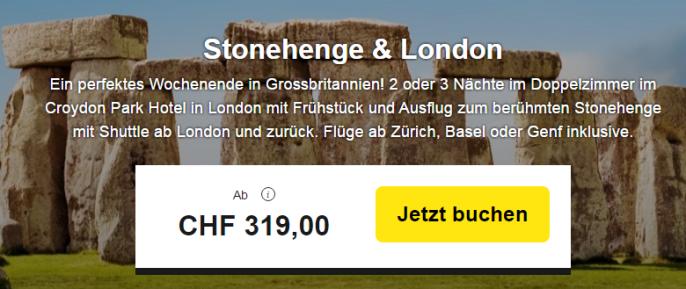 London und Stonehedge