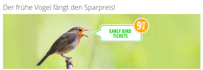 Flixbus Early Bird Tickets