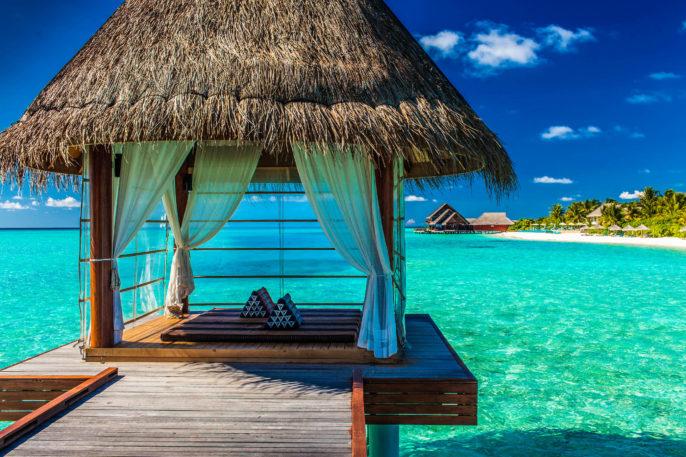 Ferien auf den Malediven Resort