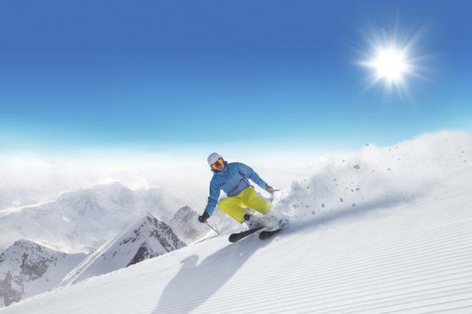 Skiopening im Skigebiet Silvretta Montafon