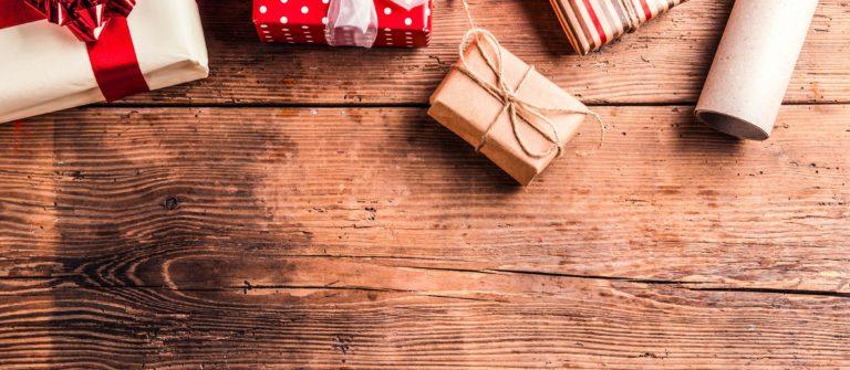 Geschenkideen und Gutscheine für Weihnachten