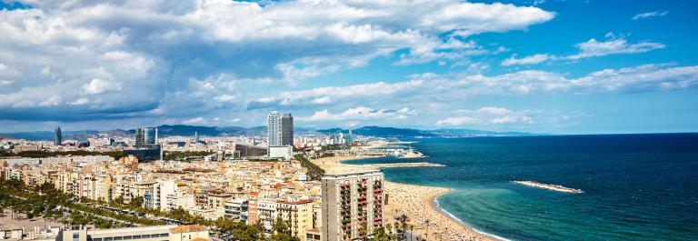 Barcelona Kurztrip Strand