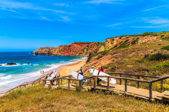 beautiful-beach-in-algarve-region-shutterstock_280700969-editorial-only-pawel-kazmierczak-2-585x390