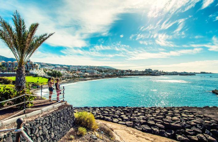 Fanabe beach in Tenerife