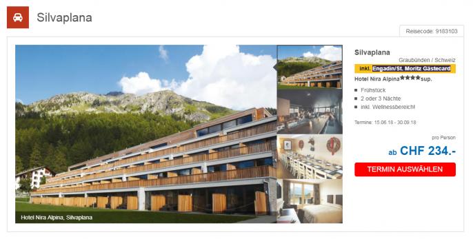 Silvaplana Nira Alpina