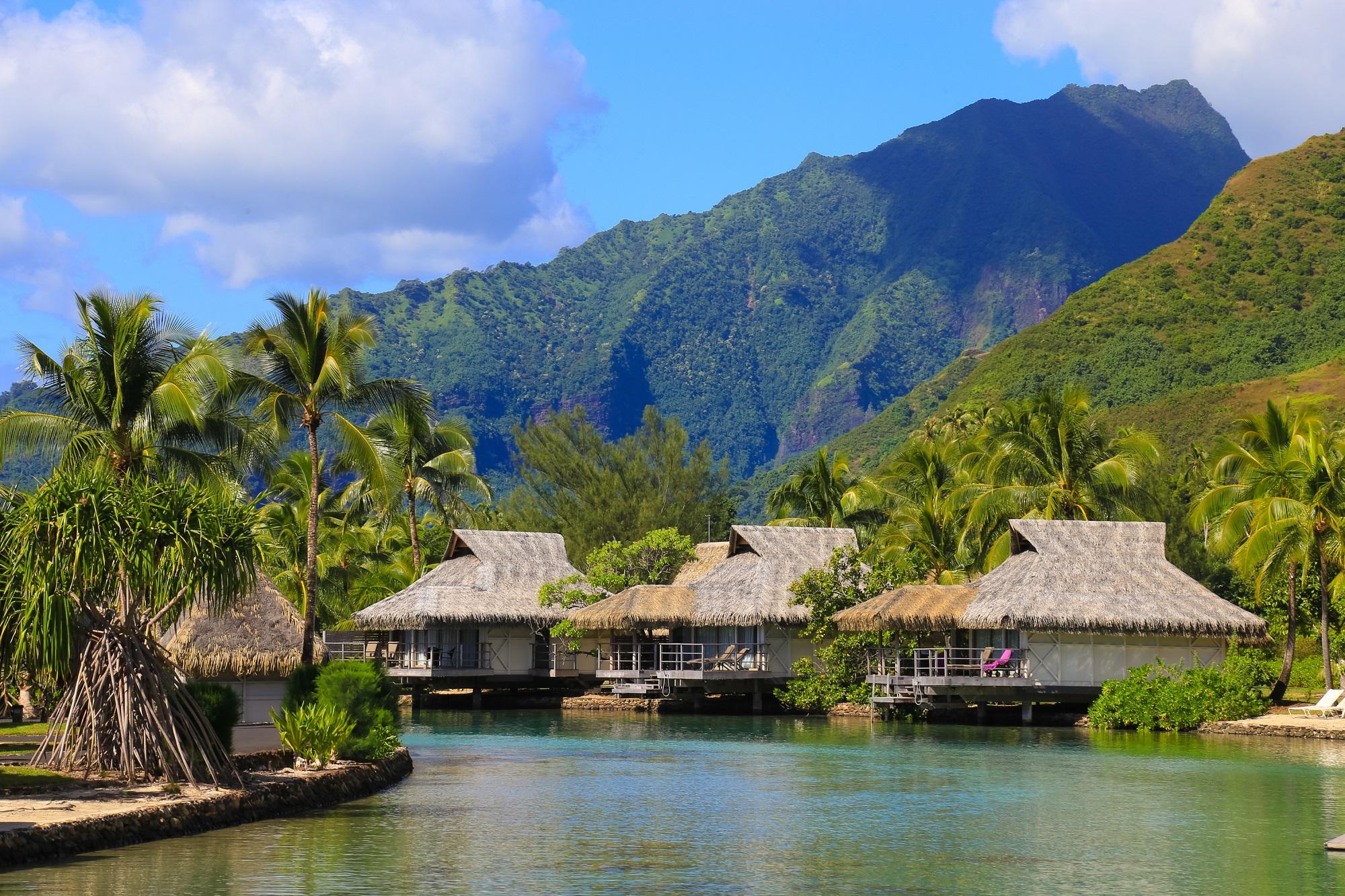 Wasserbungalow Herzinsel