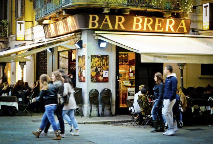 Bar Brera, Milan, Italy
