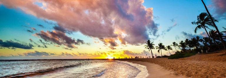 sunset-at-tropical-poipu-beach-of-kauai-hawaii-istock_66995317_xlarge-2