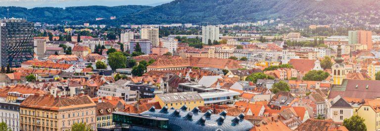 The Austrian city Graz