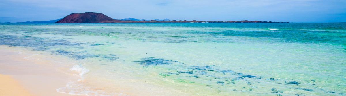 white sand beach Ferien auf Fuerteventura