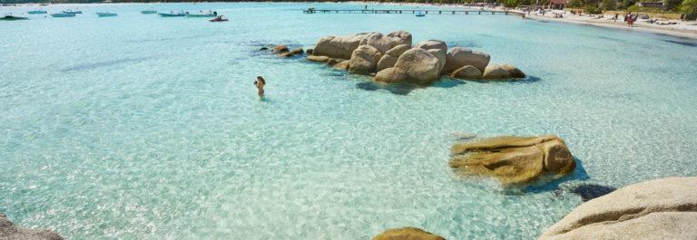 Santa Gilu beach Korsika Flüge