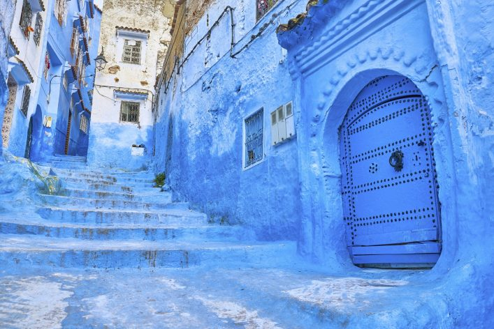 Medina in Chefchaouen, Morocco, Africa
