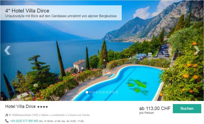 Gardasee Hotels  Sterne Direkt Am See