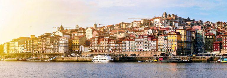 Cityscape of Porto, Portugal