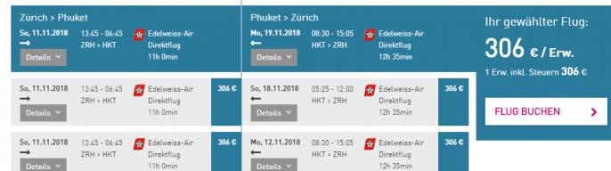 Phuket-Fluege