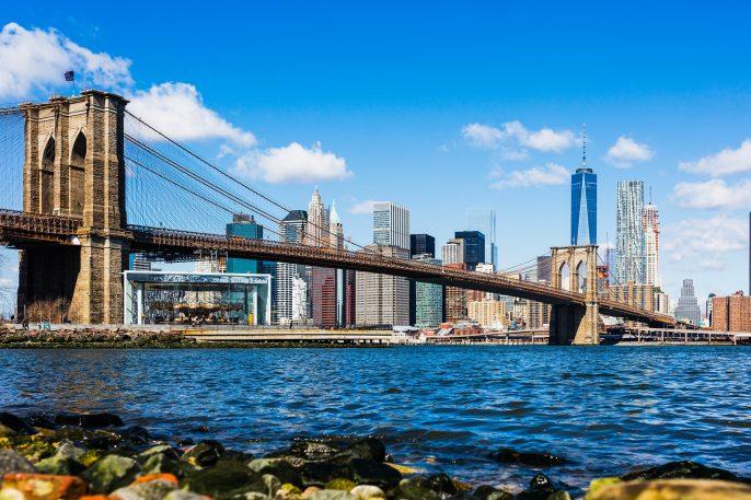 Brooklyn Bridge Lower Manhattan
