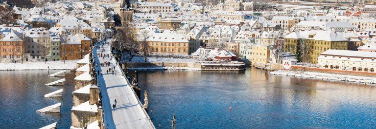 Winterliche Ferien in Prag Schnäppli