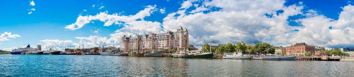 The-Oslo-Norway-Harbor-is-one-of-Oslos-great-attractions.-Situated-on-the-Oslo-Fjord-in-Oslo_shutterstock_240826468