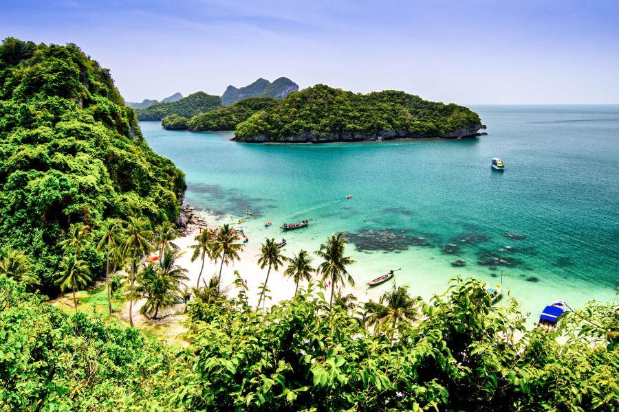 Thailand Ferien auf Koh Tao