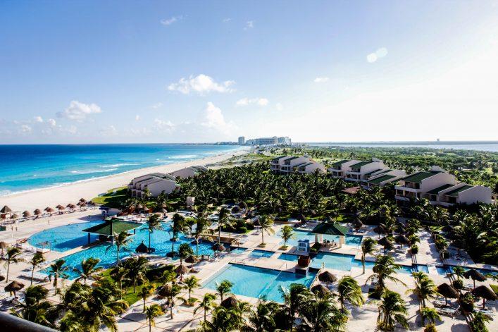 Luxusresort am Strand von Mexiko
