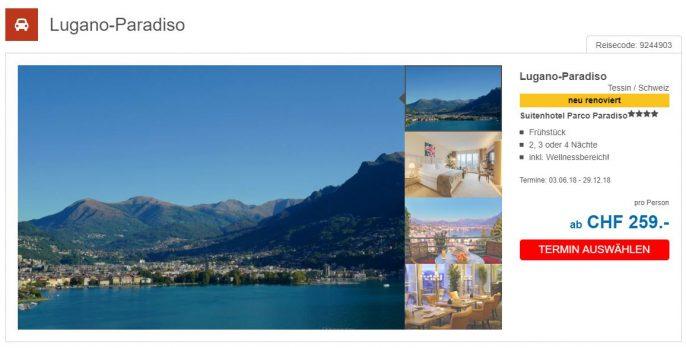 Auszeit in Lugano