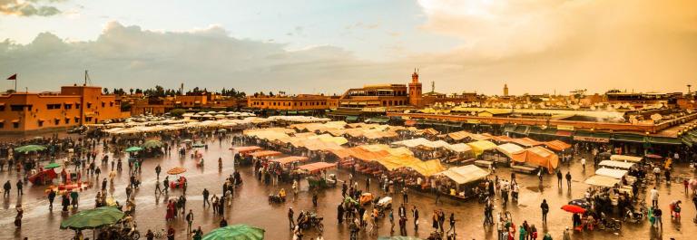 Jemaa el-Fnaa, Marrakesh, Morocco iStock_95004093_XLARGE-2_preview