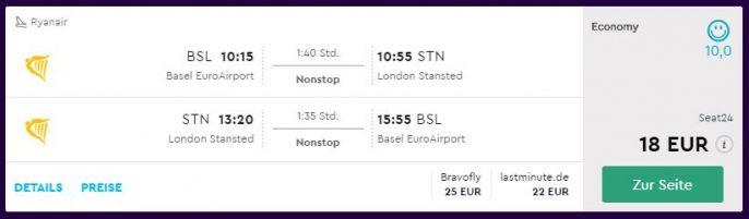 London Flüge
