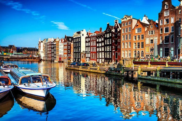 Eine der schönsten Hafenstädte Europas - Amsterdam
