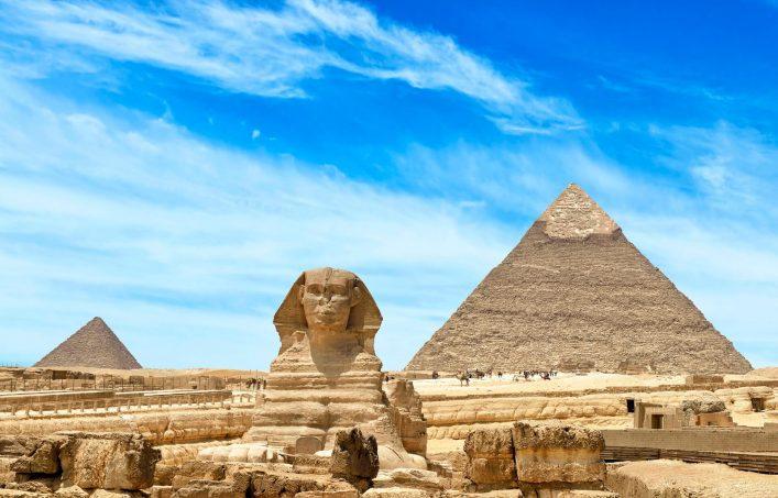 Sieben Weltwunder Pyramiden von Gizeh