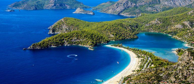 Blaue Lagune mit dem Öludeniz Strand