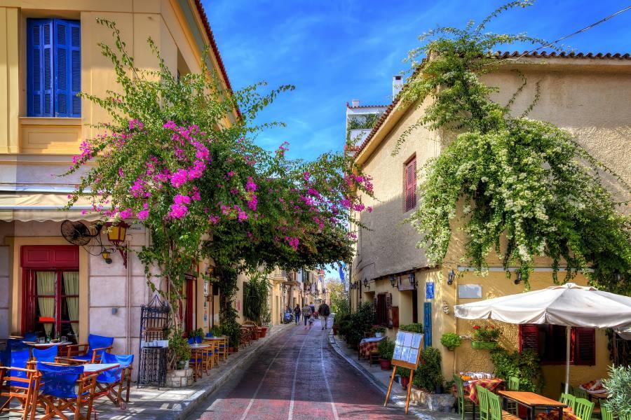 Plaka-Athen-shutterstock_224505004