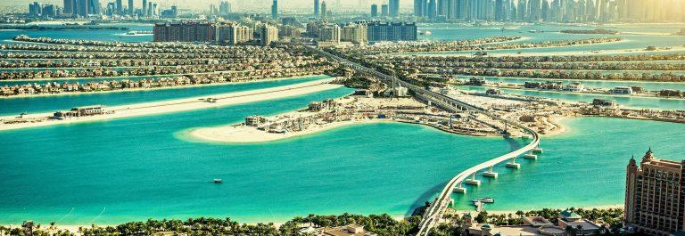 The Palm Jumeirah, Dubai, UAE