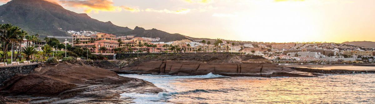 Los Christianos coastline