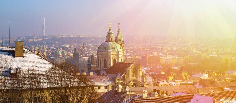 Winter in Prague, Christmas time, Prague, Czech Republic